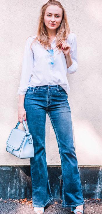 70s Bell Bottom Jeans