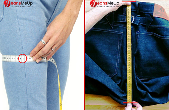 Measurments for your Jeans