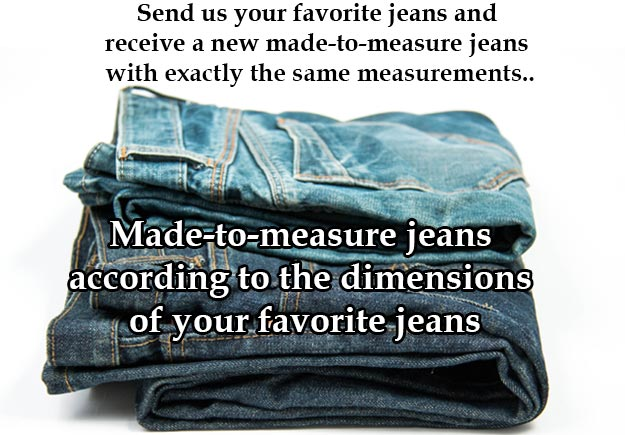 New favorite jeans? Make your own jeans!