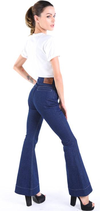 Womens bell bottom jeans